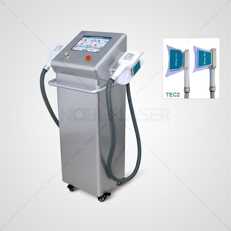 body slimming fat freezing cryolipolysis machine double handles